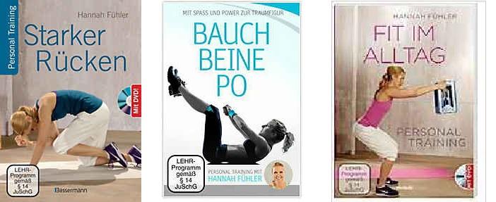DVD mit Buch Personal Training
