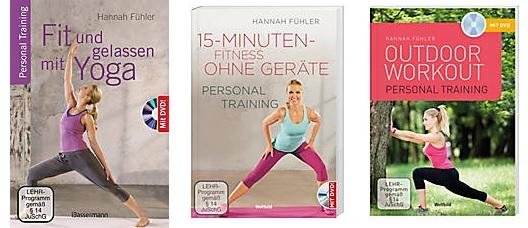 2. Reihe Personal Training, DVD mit Buch