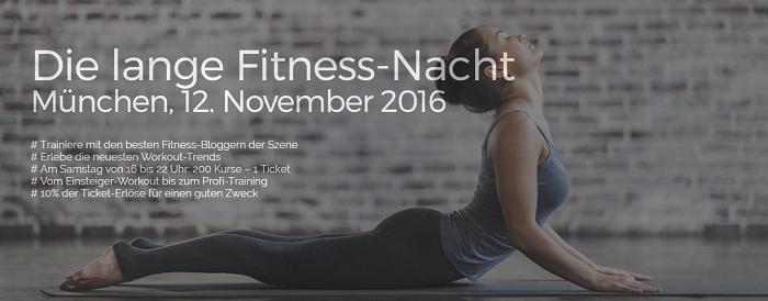 Lange Fitness-Nacht am 12.11.2016
