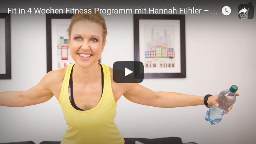 Fitness-Programm mit Hannah Fühler