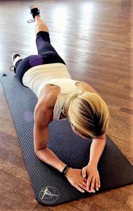3-Punkt-Plank Hannah Fühler