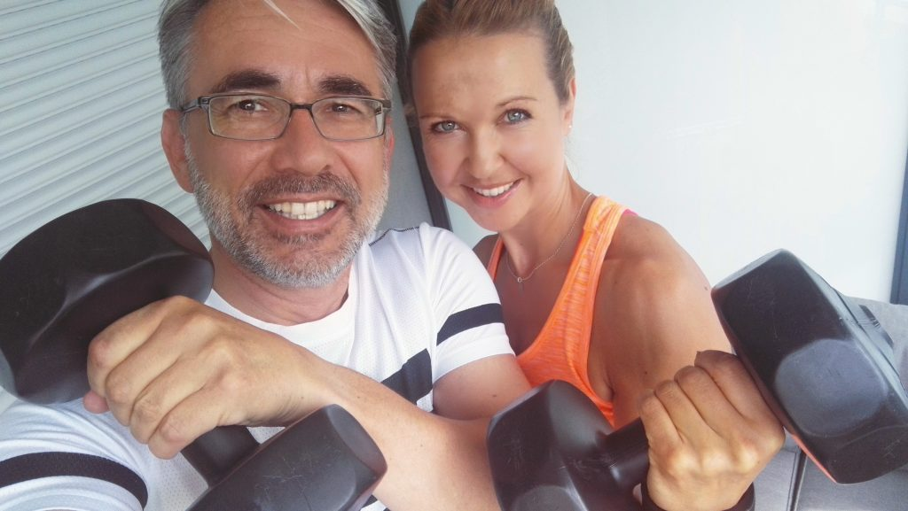 Personal Training mit Personal Trainerin Hannah, Hanteln