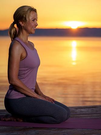 Yoga für die Frau Ü40