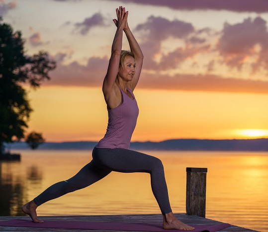 Yoga Asana Krieger 1